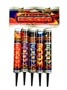 Cosmic Roman Candles : ATOMIC BOOM