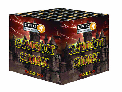 Epic Cakes £30 to £50 : CAMELOT STORM