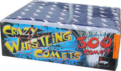 Jorge Cakes £15 to £30 : CRAZY WHISTLING COMETS