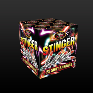 Bright Star Quiet Fireworks : STINGER