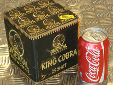 Oriental Cakes up to £15 : KING COBRA
