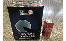 Epic Cakes £30 to £50 : HOWLING WOLVES