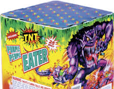 Galactic Cakes up to £15 : PURPLE PEOPLE EATER