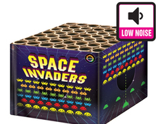Planet Quiet Fireworks : SPACE INVADERS